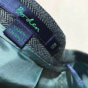 Boden Skirts - Boden Wool Blend Herringbone Skirt 12r
